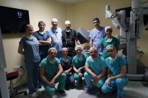 robotik cerrahi ekibi
