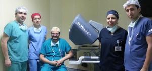 robotik cerrahi ekibi II